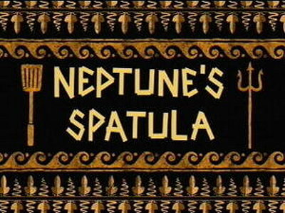 Neptune's Spatula Television Episode Title Card