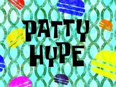 Patty Hype Television Episode Title Card