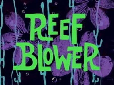 'Reef Blower Television Episode' Title Card