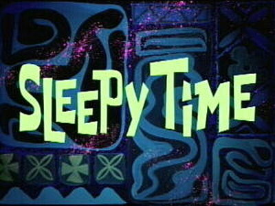 'Sleepy Time Television Episode' Title Card