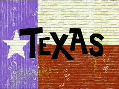 Texas Television Episode Title Card