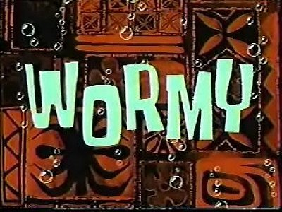 Wormy Television Episode Title Card