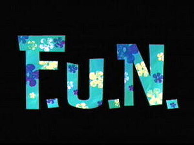 F.U.N. Television Episode Title Card