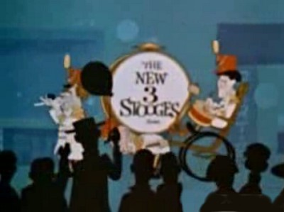 'The New 3 Stooges Television' Series Title Card