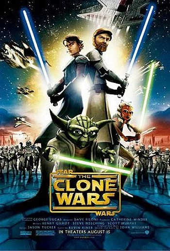 'Star Wars: The Clone Wars' Original Release Poster