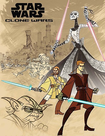 Children Of The Force Series Concept Art