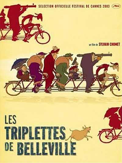 Les Triplettes de Belleville Original Release Poster
