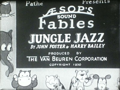 'Jungle Jazz' Title Card