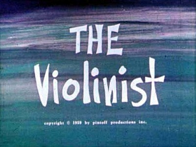 The Violinist Title Card