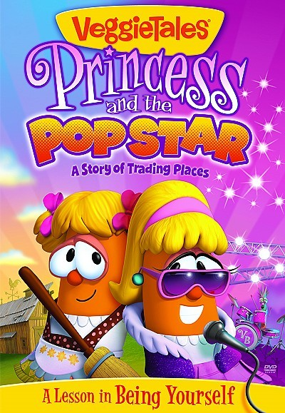 'Princess And The Pop Star' DVD Box Art