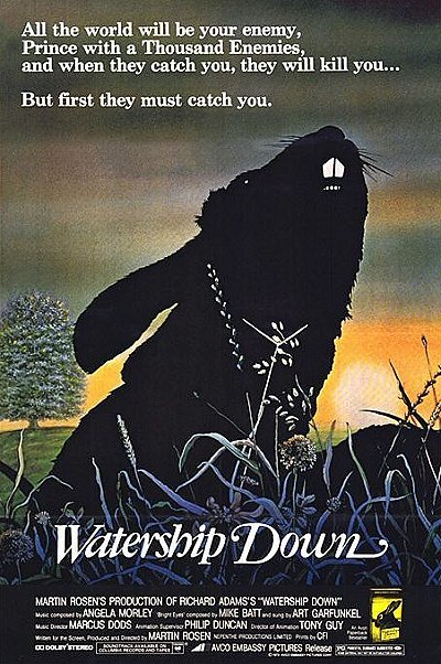 Watership Down Release Poster