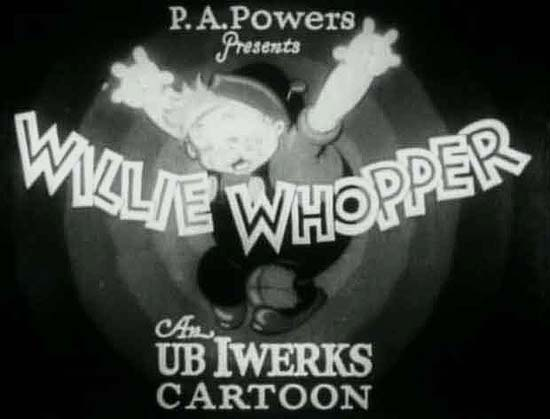 <i>Willie Whopper</i> Series Title Card