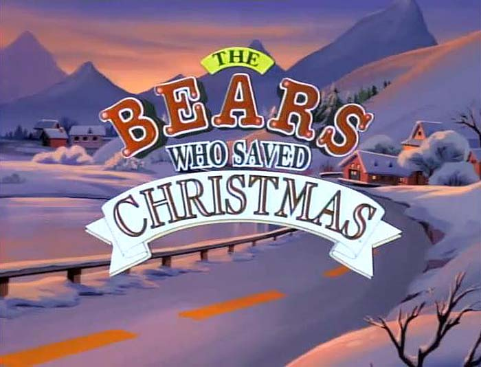 The Bears Who Saved Christmas Title Card