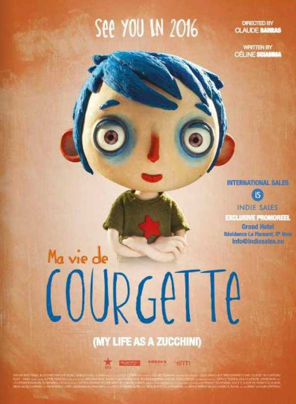 ma vie de courgette  my life as a zucchini   2016