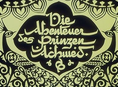 Die Abenteuer des Prinzen Achmed Title Card