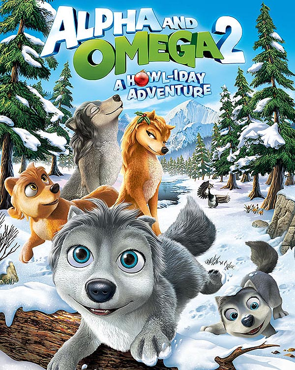 Alpha and Omega 2: A Howl-iday Adventure DVD Cover