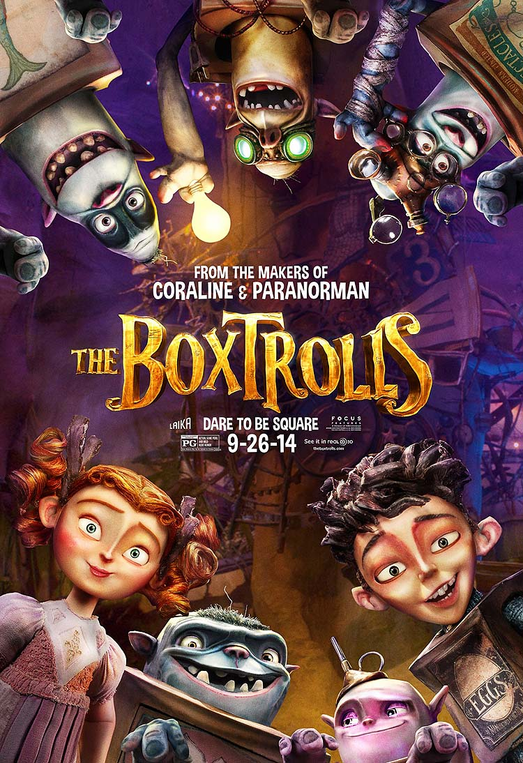 Cartoon Pictures for The Boxtrolls (2014) | BCDB