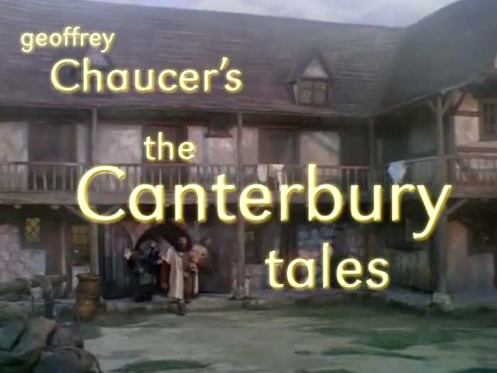 The Canterbury Tales Series Title Card