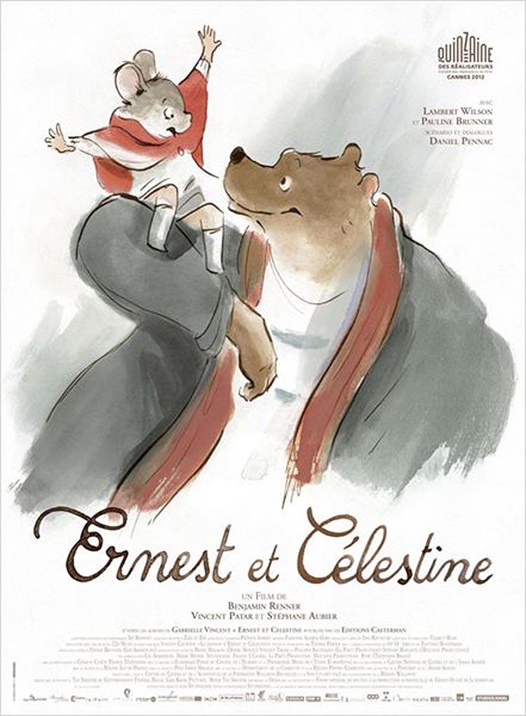 Ernest et C�lestine Original Poster
