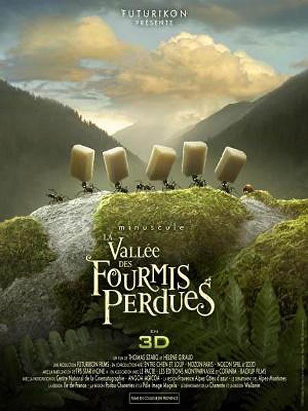 Minuscule - La Vall�e des Fourmis Perdues French Poster