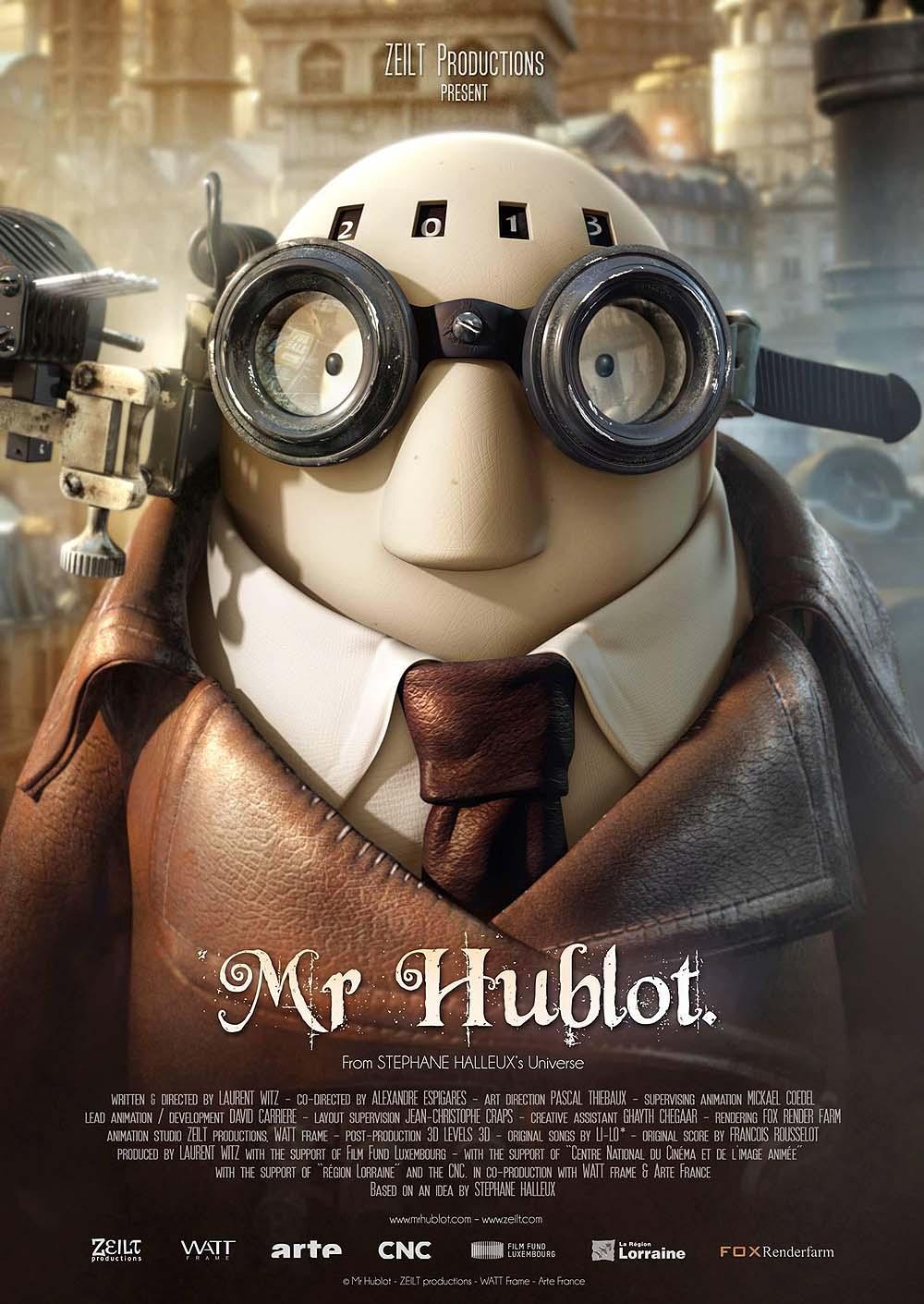 Mr. Hublot Poster