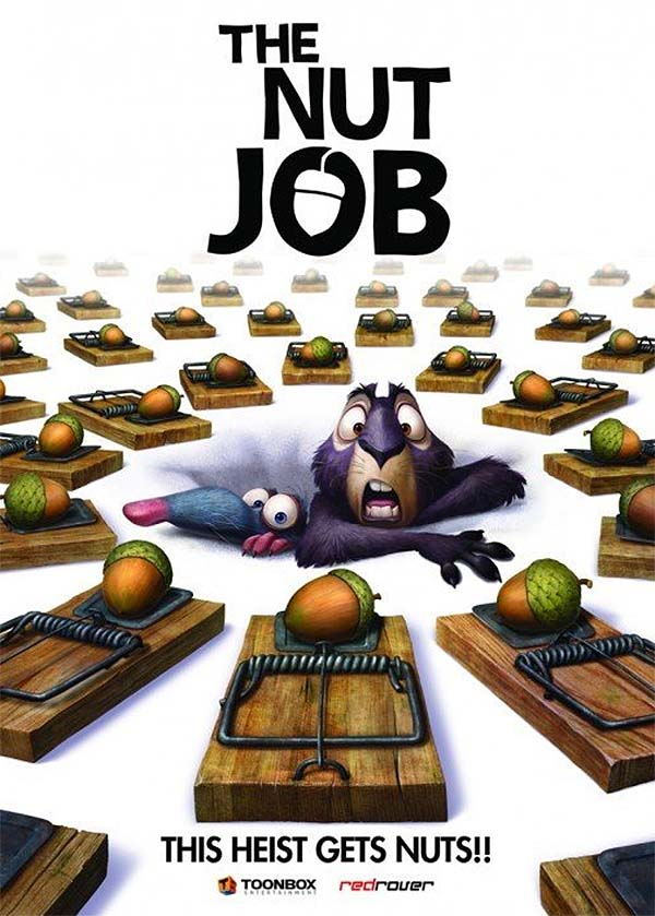 The Nut Job Advance Poster