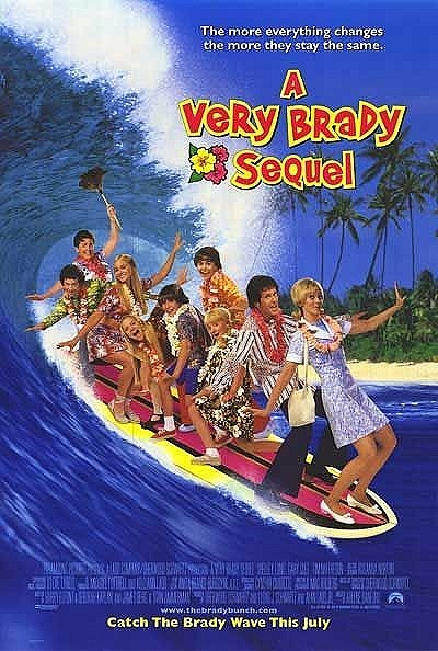 A Very Brady Sequel Original Release Poster
