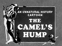 How The Camel Got His Hump Title Card