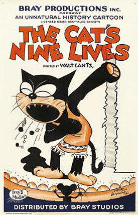 The Cat's Nine Lives Poster