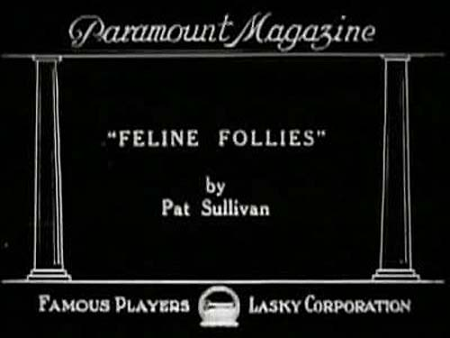 Feline Follies Title Card
