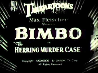 'The Herring Murder Case' Title Card