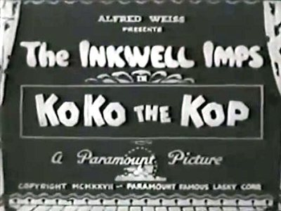 'KoKo The Kop' Title Card