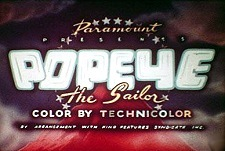 'Popeye the Sailor' Series Title Card