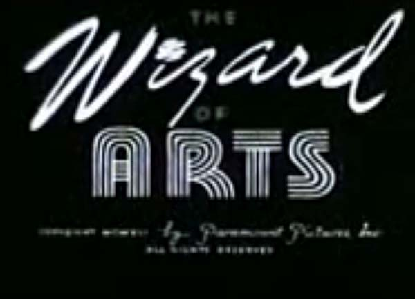 <i>The Wizard Of Arts</i> Title Card