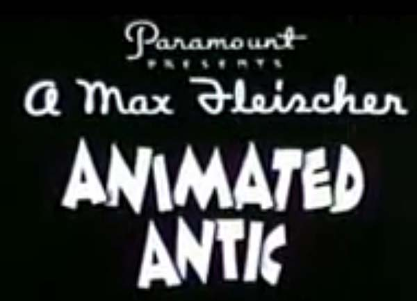 'Animated Antics' Series Title Card
