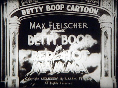 <i>Red Hot Mamma</i> Title Card
