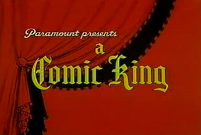 'Comic Kings' Series Title Card
