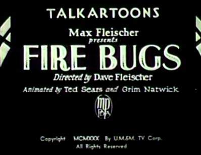 Fire Bugs Title Card