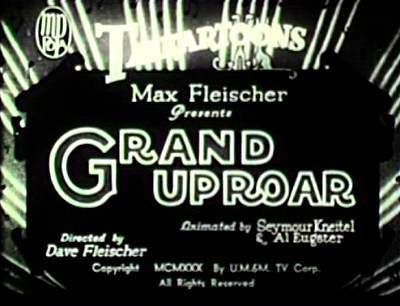 'Grand Uproar' Title Card