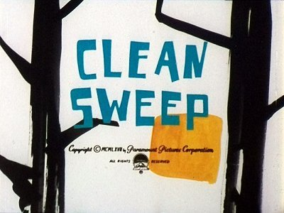 <i>Clean Sweep</i> Title Card