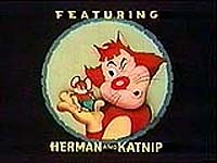 Herman and Katnip Series Title Card