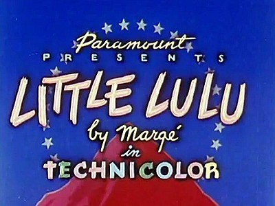 <i>Little Lulu</i> Series Title Card