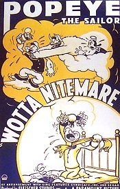 Wotta Nitemare Original Release Poster