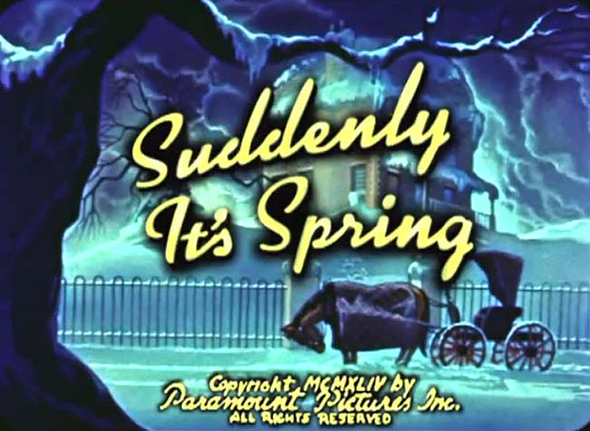 <i>Suddenly It's Spring</i> Title Card