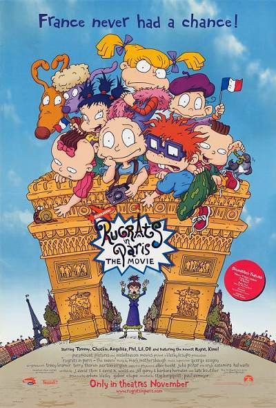'Rugrats In Paris: The Movie' Original Release Poster