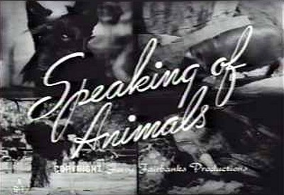 <i>Speaking Of Animals</i> Series Title Card