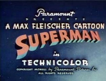 'Superman' Series Title Card