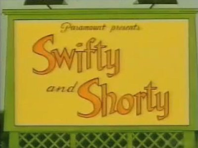 'Swifty and Shorty' Series Title Card