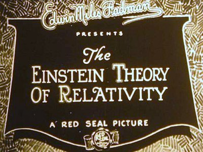 'The Einstein Theory Of Relativity' Original Title Card