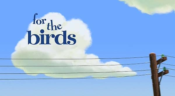 'For The Birds' Title Card